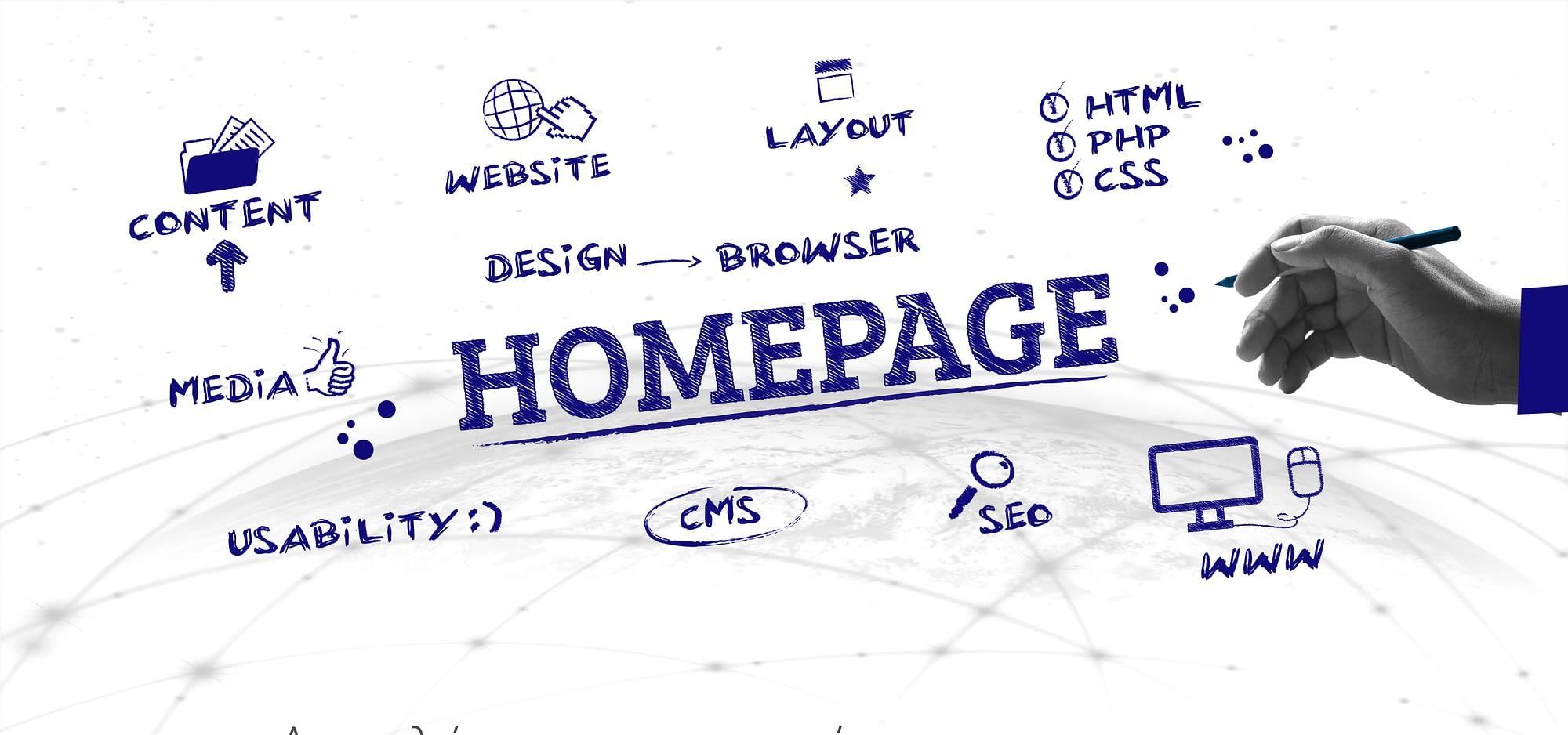 web design αρχικη - Κατασκευή ιστότοπων